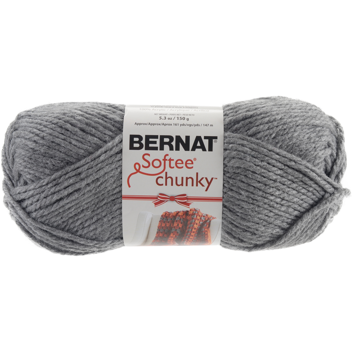 Chunky Yarn : ... Chunky Holiday Yarn ? Bernat? Softee? Chunky Holiday Yarn True Grey
