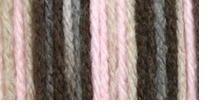Bernat Super Value Ombre Yarn Pink Taupe