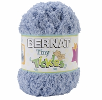 Bernat Tiny Tickles Yarn Soft Blue