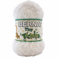 Bernat Tiny Tickles Yarn White Clouds