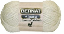 Bernat Yarn Alpaca Natural Blends Yarn
