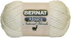 Bernat Yarn Alpaca Natural Blends Yarn - Click to enlarge