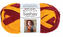 Red Heart Boutique Sashay Team Spirit Yarn - Knitting-Warehouse.com