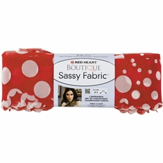 Red Heart Boutique Sassy Fabric Yarn - Click to enlarge
