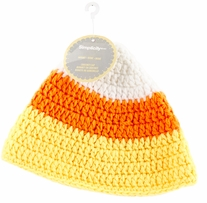 Boye Crocheted Hats For Babies Candy Corn