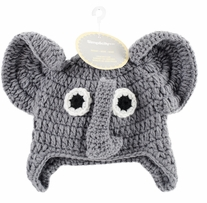 Boye Crocheted Hats For Babies Elephant