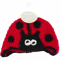 Boye Crocheted Hats For Babies Lady Bug