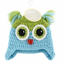 Boye Crocheted Hats For Babies Owl