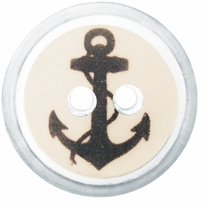 ButtonTHIS Novelty Buttons 1in Anchors Away