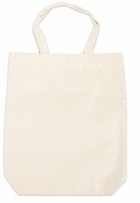 Canvas Tote 14inX16in With 4in Gusset