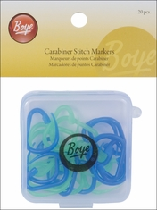 Carabiner Stitch Markers - Click to enlarge