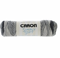 Caron Simply Soft Ombres Yarn Stormy Weather