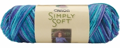 Caron Simply Soft Paints Yarn - Click to enlarge