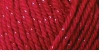Caron� Simply Soft� Party Yarn Rich Red Sparkle