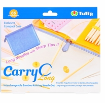 Carry C Interchangeable Bamboo Circular Needle Long Set