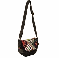 Catori Flap Over Crossbody Tote 8in x 3in x 7.5in Tabarca Delights