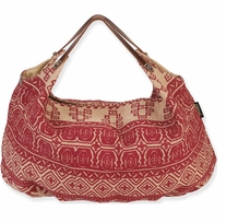 Catori Hobo Tote 23inx6inx15in Sufi Red