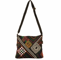 Catori Medium Crossbody Tote 14in x 3in x 11in Tabarca Delights