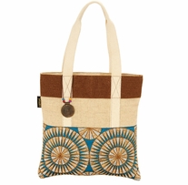 Catori Medium Tote Gota Blue 14in x 14in