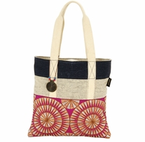 Catori Medium Tote Gota Red 14in x 14in