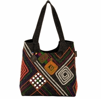 Catori Scoop Tote Tabarca Delights 17in x 5in x 14in