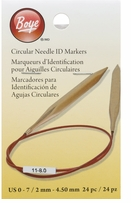 Circular Needle Markers Small Sizes 0-7