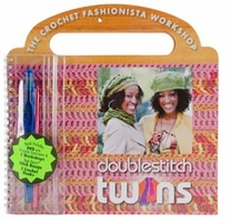 Coats And Clark Books Red Heart Double Stitch Twins with Dvd