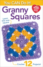 Coats & Clark You Can Do It Granny Squares - Click to enlarge