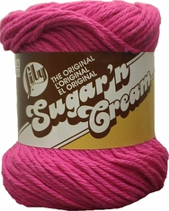 Cotton Yarn by Lily Sugar�n Cream - Click to enlarge