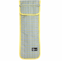 Creative Options Knitting Needle Case Yellow & Blue
