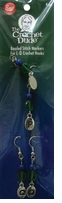 Crochet Dude Beaded Stitch Markers L-Q