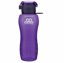 Crochet Happy H2Go Bottle Purple 24oz
