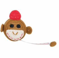 Crocheted Tape Measure Monkey 60in