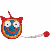 Crocheted Tape Measure Owl 60in