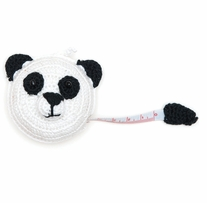 Crocheted Tape Measure Panda 60in