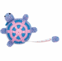 Crocheted Tape Measure Turtle 60in
