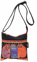 Crossbody Purse Zipper Top Feline Friends