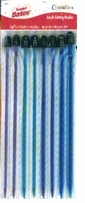 Crystalites Acrylic Knitting Needle Assortment Sizes 8 9 10 10 1/2