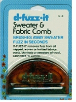 D Fuzz It Sweater & Fabric Comb