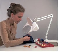 Daylight Magnifying Lamp White