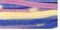 Deborah Norville Collection Cuddle Fleece Yarn Stripes Grape Jam