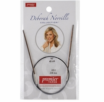 Deborah Norville Collection Fixed Circular Needles 16in Size 0 (2mm)
