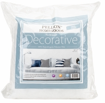 Decorative Pillow Insert Twin Pack 16inX16in