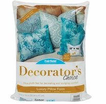Decorator's Choice Luxury Pillow Form 12inX16in