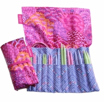Denise2Go Interchangeable Knitting For A Cure Set Pink Bouquet
