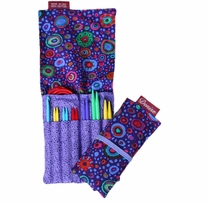 Denise2Go Interchangeable Knitting Tools Set Italian Glass Purple