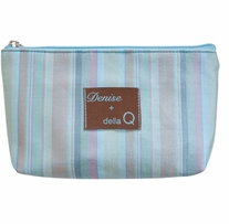 Denise2Go Tagalong Notions Case Seafoam Stripe
