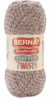 Bernat Handicrafter Cotton Twists Yarn 340gm