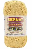 Discount Bernat Yarn Handicrafter Solid Cotton 400gm