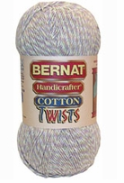Discount Bernat Yarn Handicrafter Twists Cotton